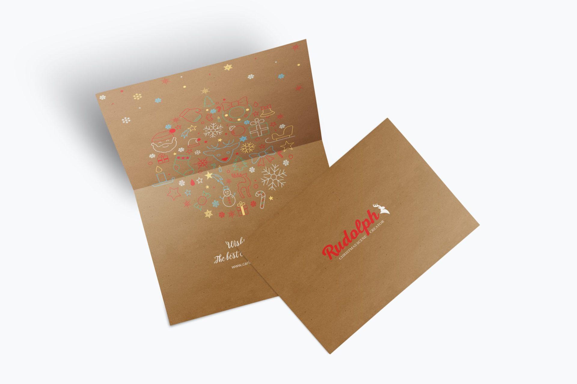 A7 Greetings Card 7x5 Mockup 01