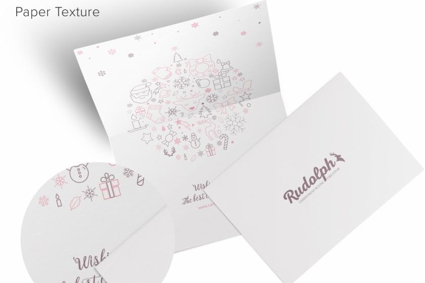 A7 Greetings Card 7×5 Mockup 01