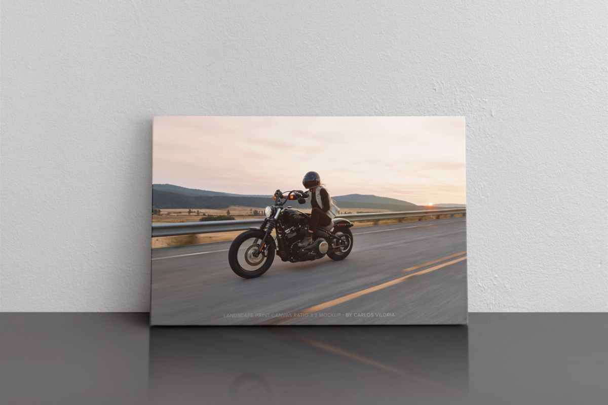 Landscape Canvas Ratio 3x2 Mockup