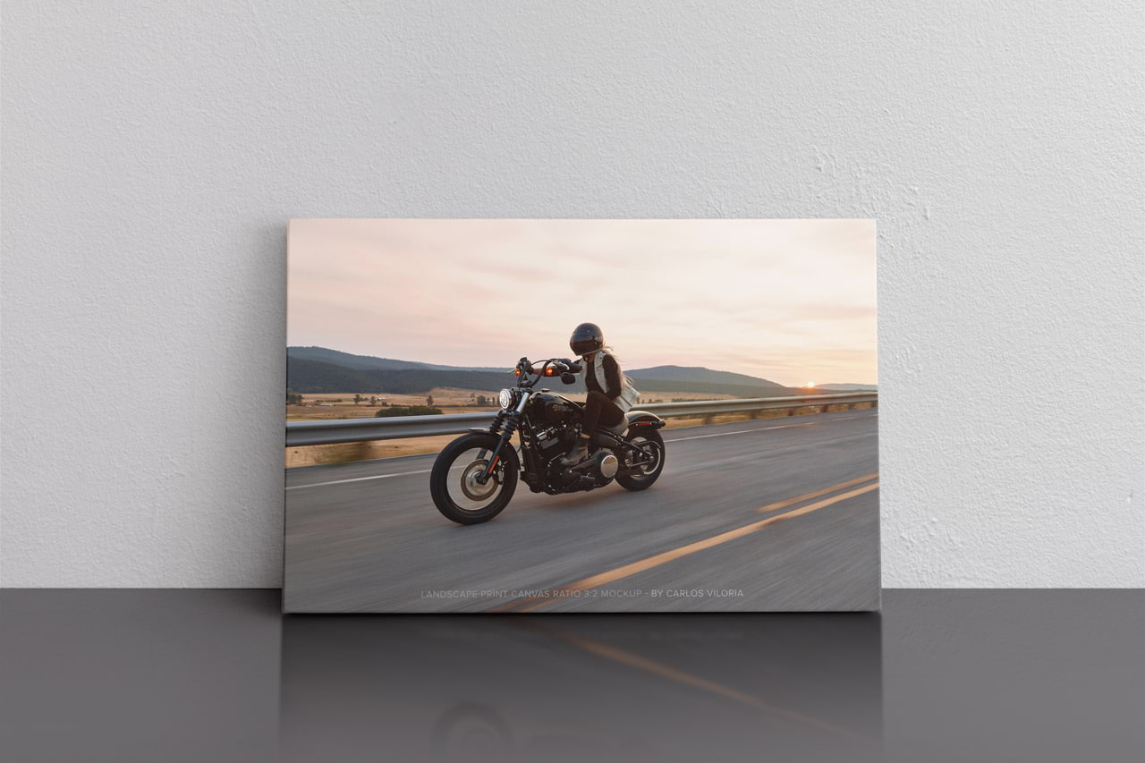 Landscape Canvas Ratio 3x2 Mockup