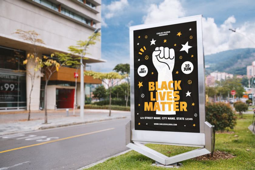 Free Billboard Outdoor Advertising Mockup