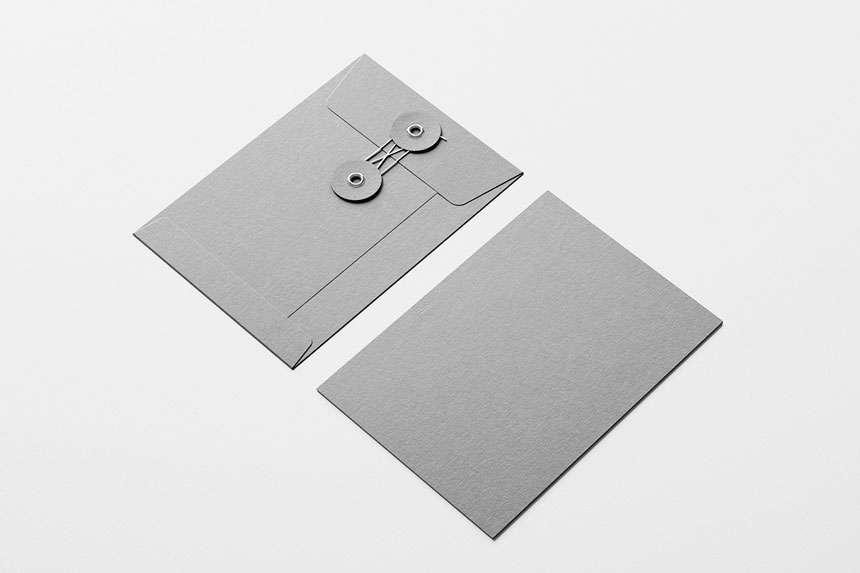 Freebie Envelope Mockup