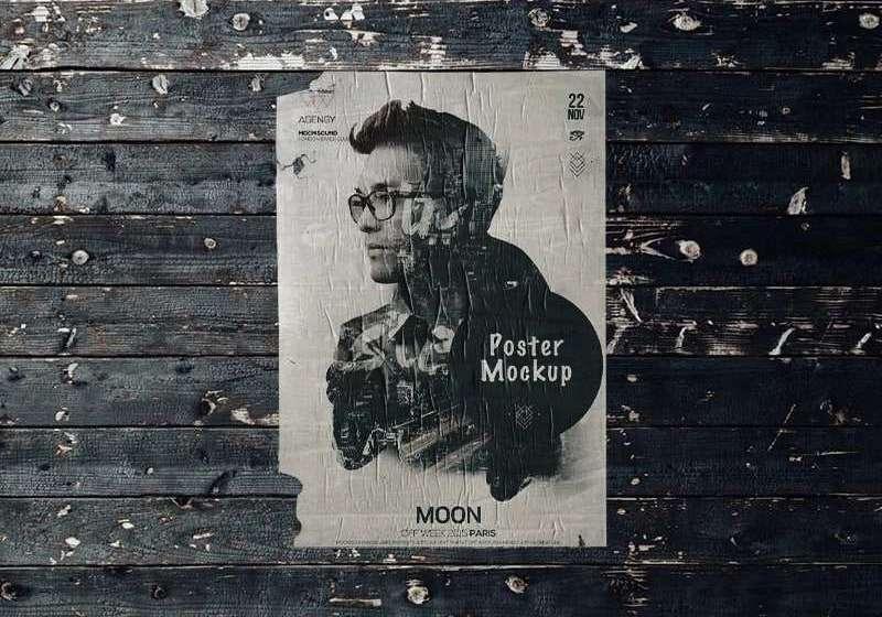 Freebie Poster Mockup