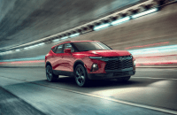 2022 Chevy Blazer RS Changes