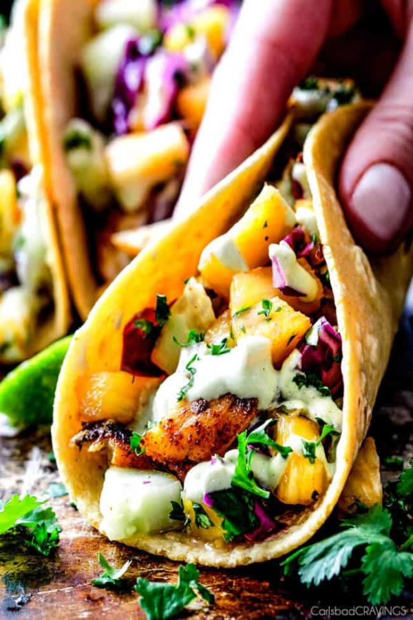 Mind Ing Blackened Fish Tacos With A Quick Marinade And The Most Flavorful E Rub