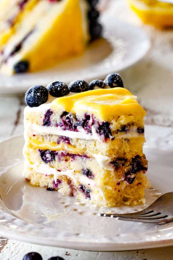 Lemon Blueberry Cake Carlsbad Cravings