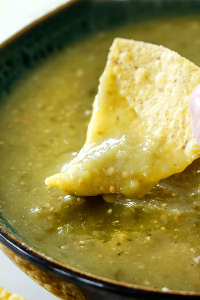 Authentic Salsa Verde 15 Minutes With VIDEO Carlsbad
