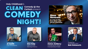 Clean Comedy Show to benefit Holy Childhood