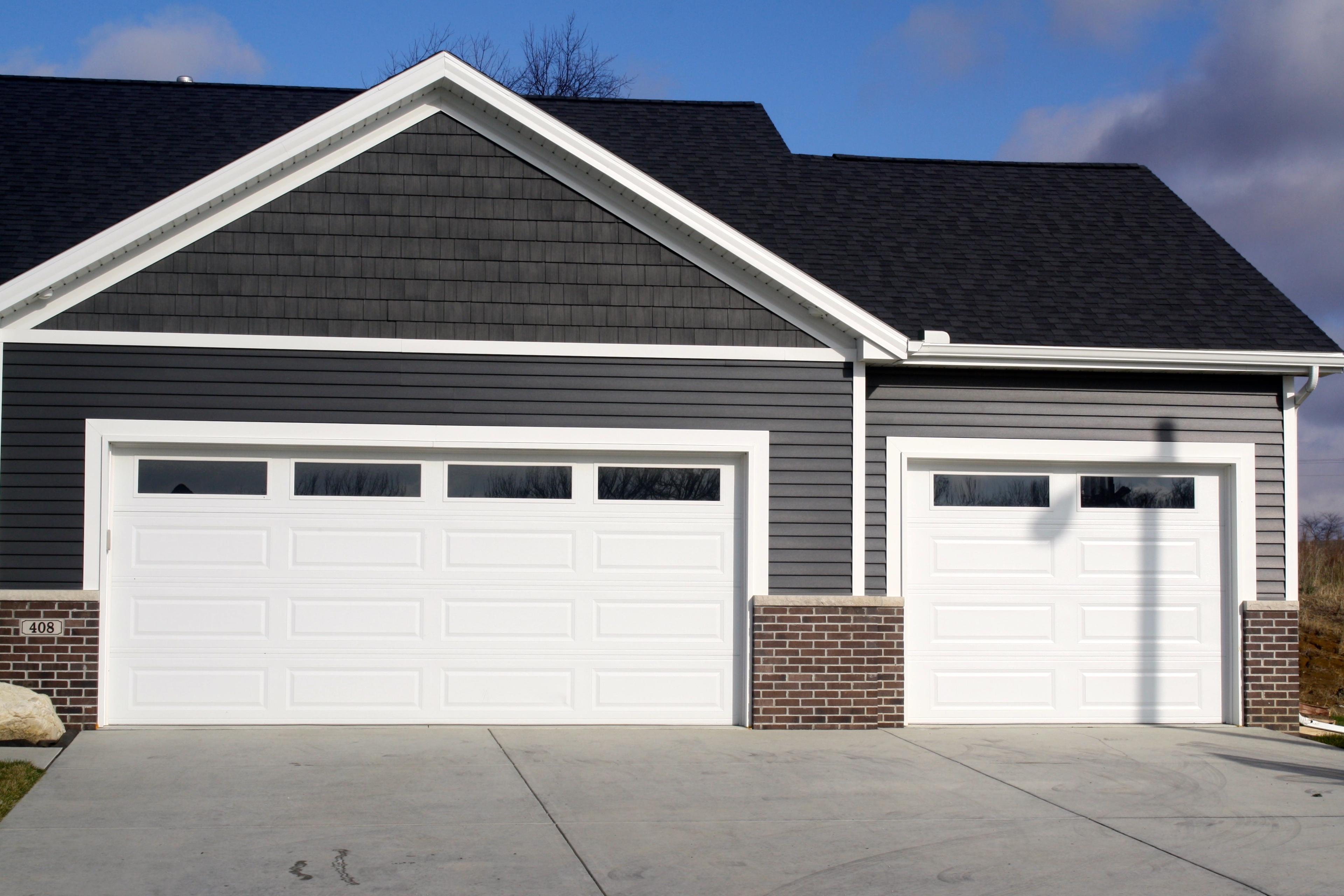 long-panel-plain-glass-windows-white-garage-door-in-downs ... on Garage Door Colors Pictures  id=93026
