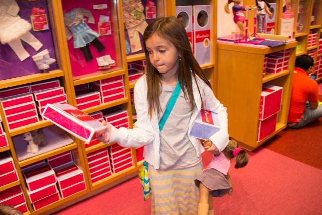 Carltonaut's Travel Tips American Girl Doll Store New York City
