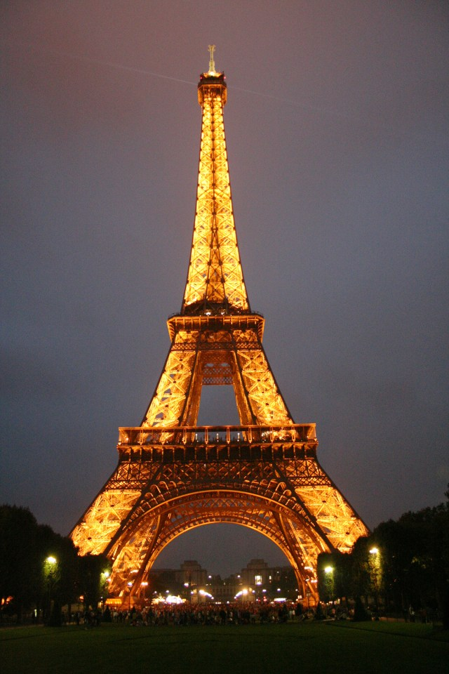 Eiffel Tower at Night in Paris France Carltonaut's Travel Tips