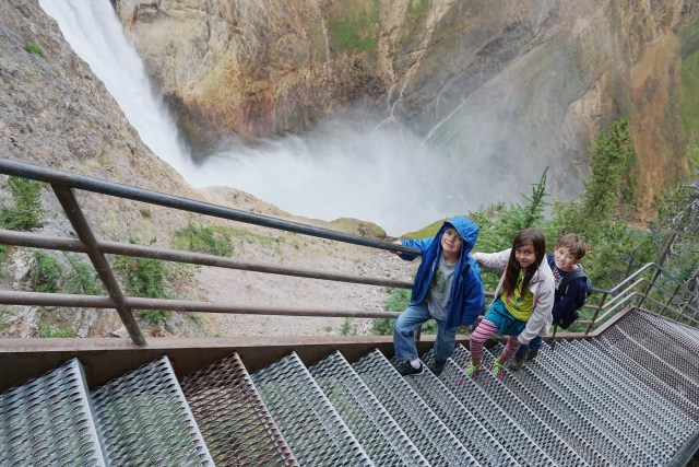 The Stairs at Uncle Tom's Trail in Yellowstone National Park Carltonaut's Travel Tips