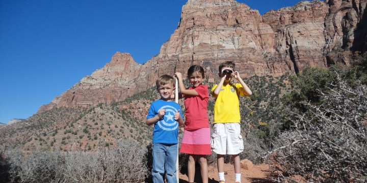 Zion National Park: Hiking Trails for Kids
