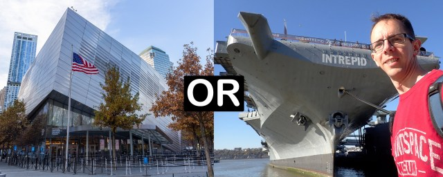 911 Museum or the Intrepid Sea Air and Space Museum in New York City Carltonaut's Travel Tips