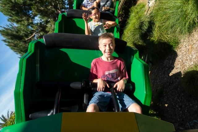Ride The Dragon at LEGOLAND California theme park Carltonaut's Travel Tips