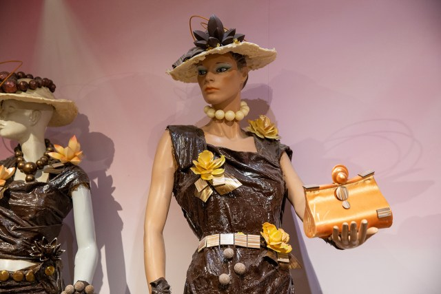 Chocolate fashion on display at Choco Story Paris Museum Carltonaut's Travel Tips