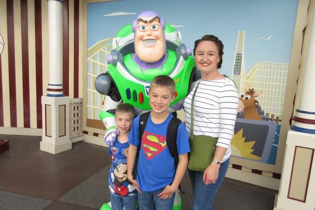 Buzz Lightyear at Pixar Pier in California Adventure at Disneyland Resort Carltonaut's Travel Tips