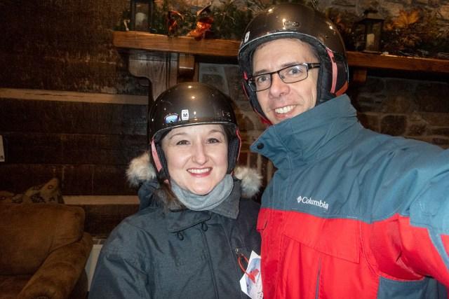 Warm up in the Cherry Peak Resort lodge after skiing a few runs Carltonaut's Travel Tips