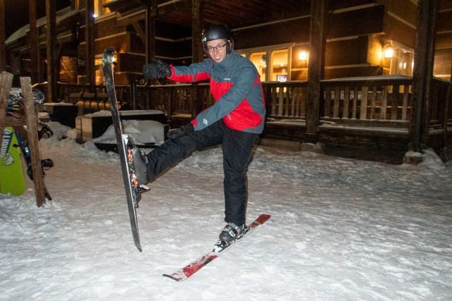 Experience night skiing at Utah's Cherry Peak Resort Carltonaut's Travel Tips