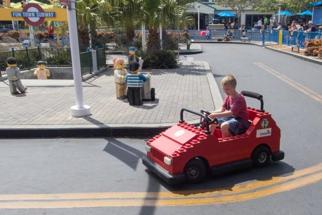 Drive your own car at LEGOLAND California Carltonaut's Travel Tips