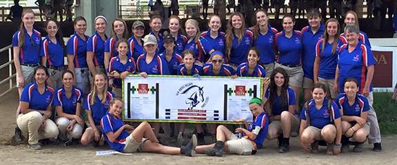 New Jersey Region Pony Club competitors