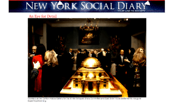 "NYSD - ""An Eye For Detail"" Feature On The Expert Eye Event At Carlton Hobbs"