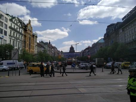 Prague Wencelas Square