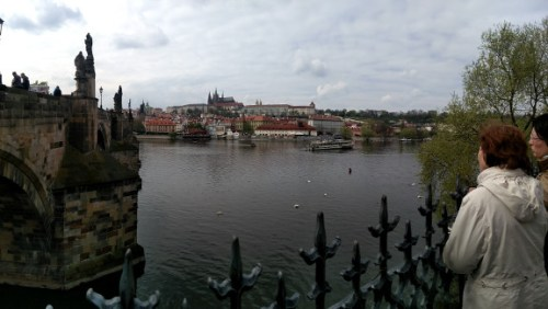Charles Bridge to the Palace