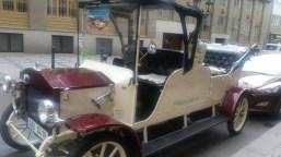Prague Old Car, Car Parked
