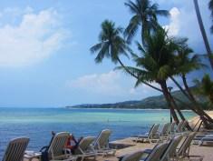Our beachview in Ko Samui