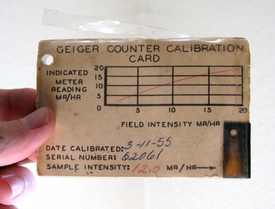 radium calibration source