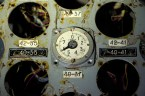 Servoindicator for a control rod in the Unit 4 control room, Chernobyl Nuclear Power Plant