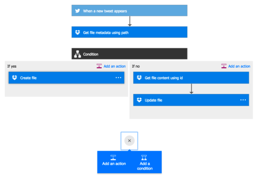 MS Flow - Add more IF-THEN-ELSE blocks