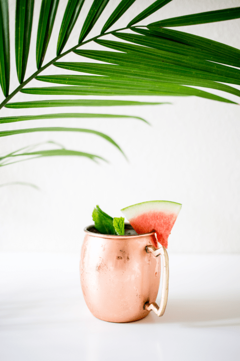 Watermelon+Moscow+Mule