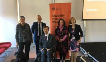 My speech for University of Sydney's Disability Inclusion Action Plan launch
