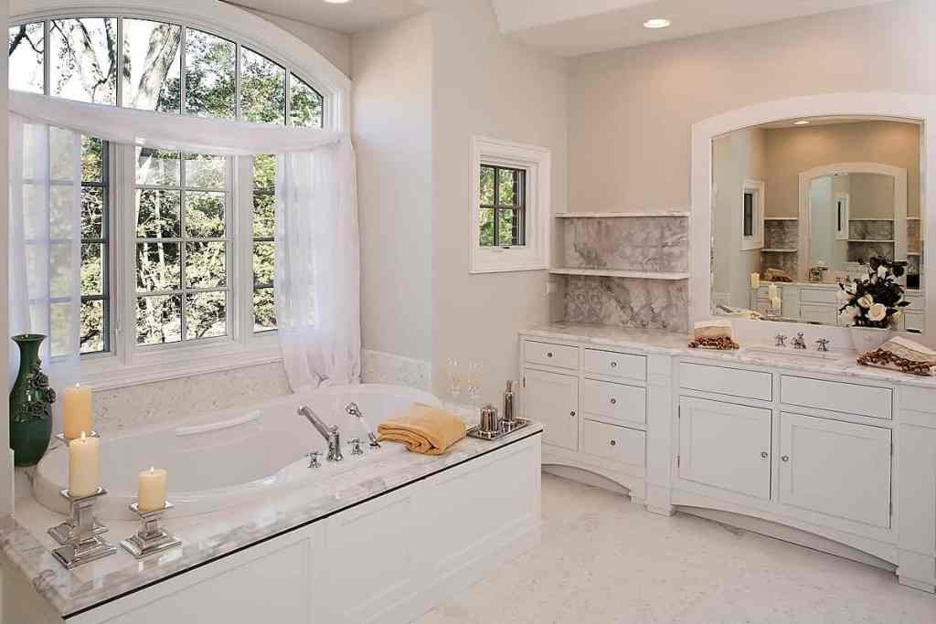 bathroom renovation contemporary marble