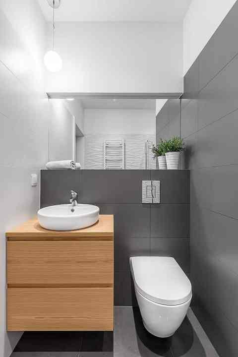bathroom renovation small powder room