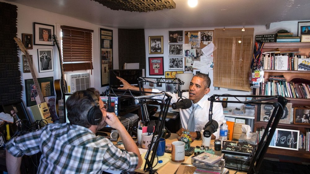 Larson-Obama-with-Marc-Maron