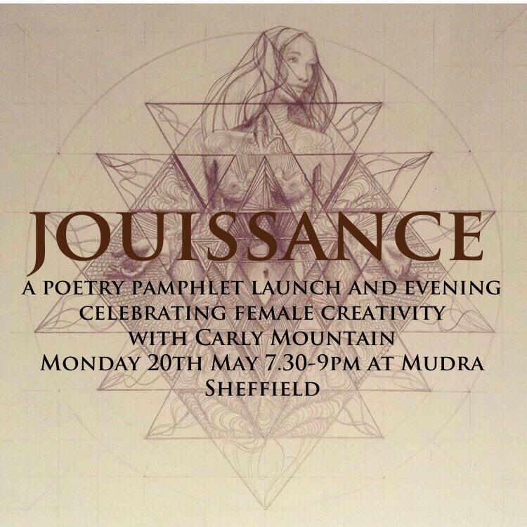 Jouissance ~ Poetry Pamphlet and Crowdfunder Launch