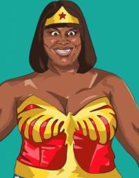 Donna Super Woman