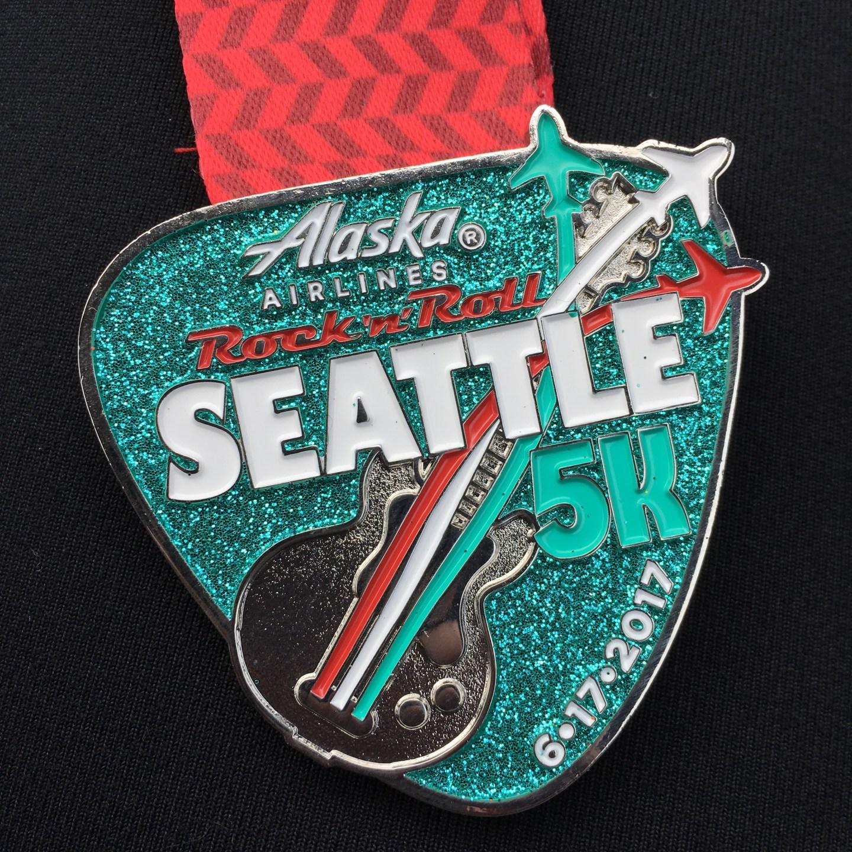 Race Report: Rock 'n' Roll Seattle 5k