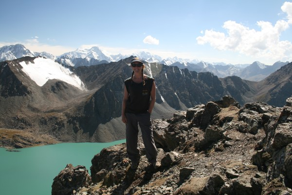 On top of the world at 3,860m in Kyrgyzstan