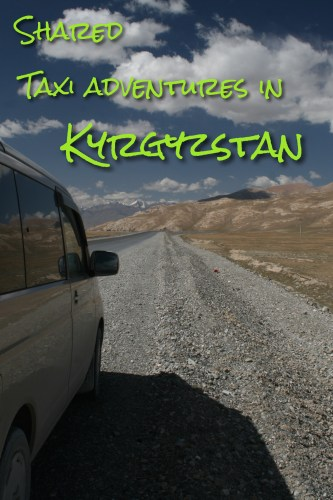 Shared Taxi Adventures in Kyrgyzstan