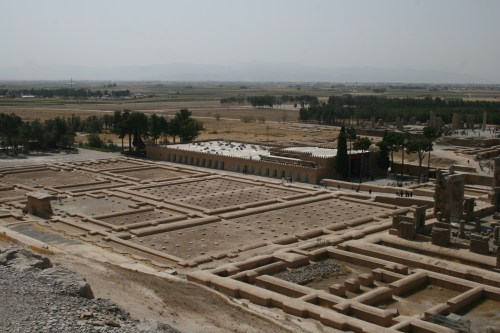 Persepolis seen from above