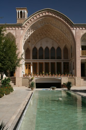 Khan-e Ameriha, the largest traditional house in Kashan