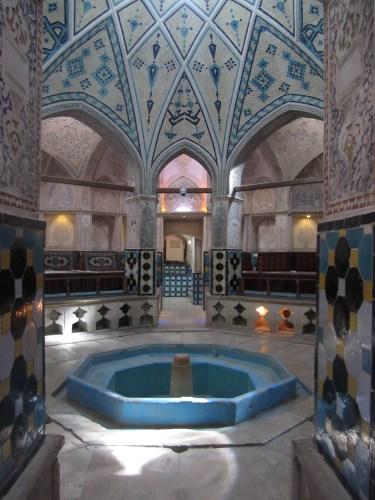 The traditional bathhouse, Hammam-e Sultan Mir Ahmad, Kashan