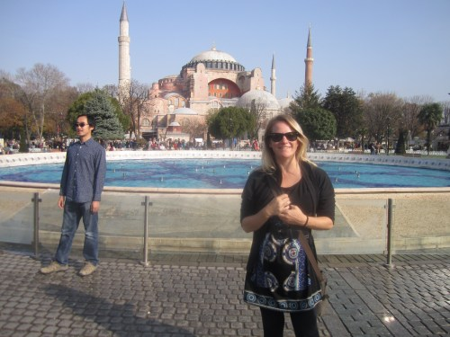 In Istanbul - I love this city!!