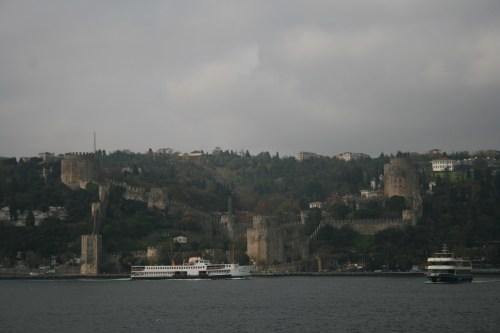 Rumeli Hisari, a European fortress