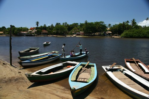 The transport to Caraiva