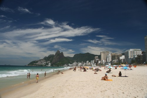 Ipanema Beach is just WOW!!